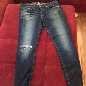 Rag and Bone skinnyJeans size 30 (run small)